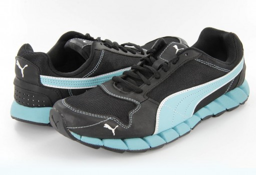 PUMA 186114 09 BLACK BLUE KEVLER RUNNER WNS  22-27