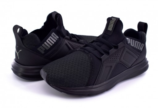 PUMA 190189 02 BLACK ENZO JR  22-25