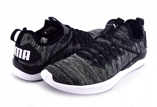 PUMA 190508 02 BLACK-ASPHALT-WHITE IGNITE FLASH EVOKNIT  25-30