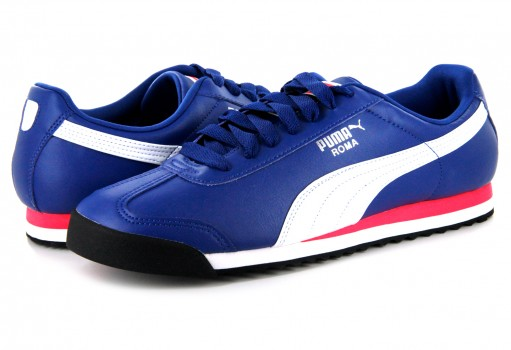 PUMA 353572 67 TRUE BLUE-WHITE ROMA BASIC  25-30