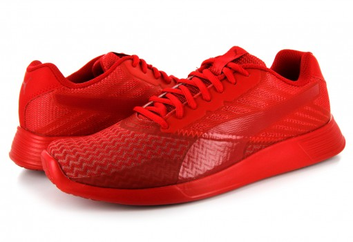 PUMA 363664 02 HIGH RISK RED-BARBADOS CHERRY ST TRAINER PRO JAGG  25-30
