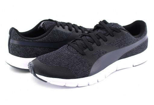 PUMA 364601 01 BLACK FLEXRACER KNIT PERISCOPE  25 - 32