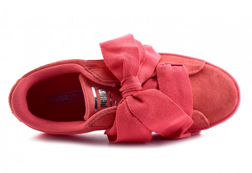 PUMA 364919 05 SHELL PINK-SHELL PINK SUEDE HEART SNK PS  17-21