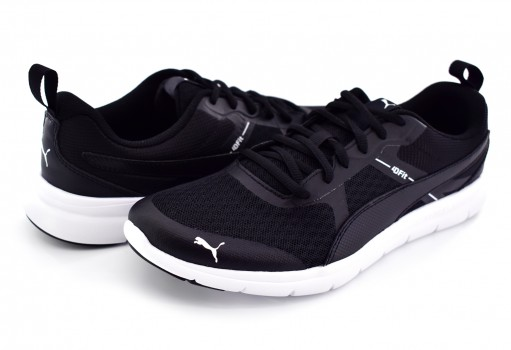 PUMA 365268 01 BLACK FLEX ESSENTIAL TR 26