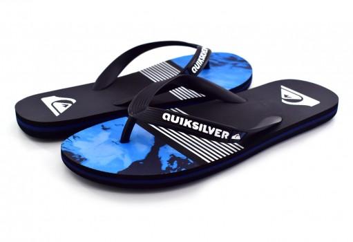 QUIKSILVER AQYL 100631 XKBS BLACK/BLUE/GREY MOLOKAI LAVA DIVISION 25