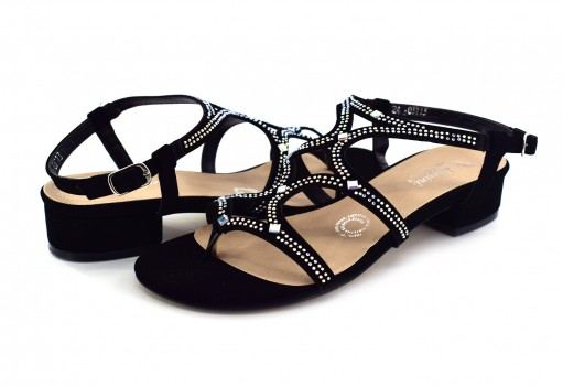 RAZZINI SHOES 03113 BUCK NEGRO PIEDRA 22