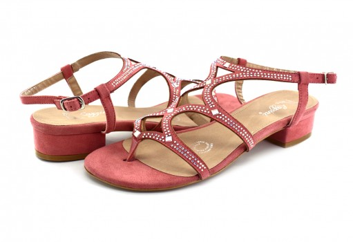 RAZZINI SHOES 03113 DURAZNO PEACH PIEDRA 22
