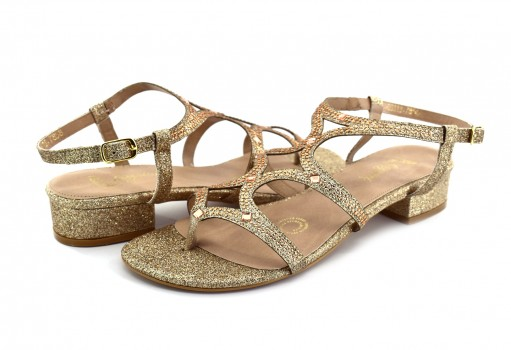 RAZZINI SHOES 03113 MINI GLITTER CIRCON PIEDRA 22