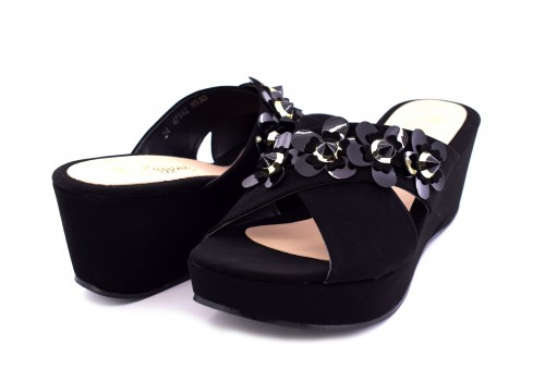 RAZZINI SHOES 47-142 BUCK NEGRO 22