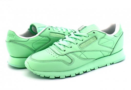 REEBOK BD2773 MINT GREEN/WHITE CL LTHR PASTELS  22-27