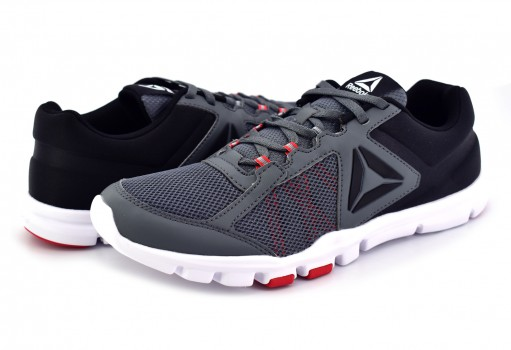 REEBOK BS8026 ALLOY/PRIMAL RED/BLACK/WHITE YOURFLEX TRAIN 9.0  23-31