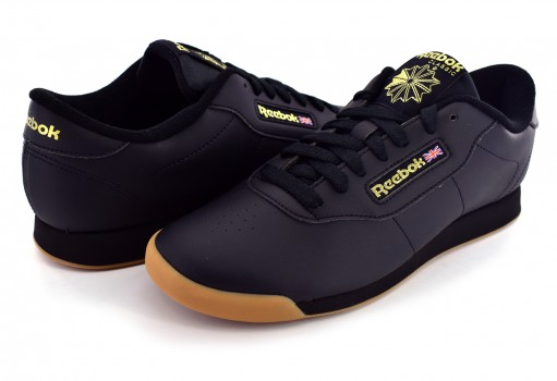 680ca8c00e1 REEBOK BS8457 BLACK GUM PRINCESS 23-27