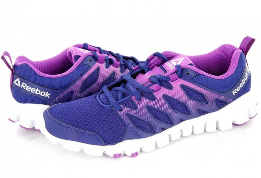 REEBOK BS9147 DEEP COBALT/VICIOUS VIOLET/WHITE REALFLEX TRAIN 4.0  22-27
