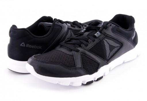 REEBOK BS9882 BLACK/WHITE/ALLOY YOURFLEX TRAIN 10 M  25-31