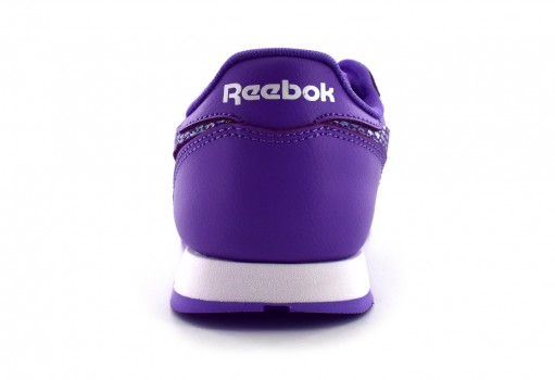 REEBOK CN0322 LUSH ORCHID/WHITE CL LEATHER SPRING  17-22