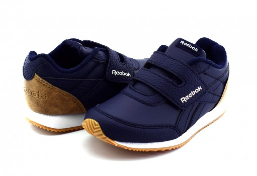 REEBOK DV4041 COLL NAVY/TRUE GREY/ ROYAL CLJOG 2 KC  12-16