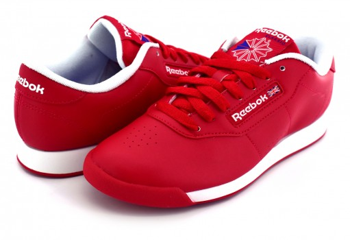 REEBOK V68704 SLAM-EXCELLENT RED/TERA BLUE/WHITE PRINCESS  22-27