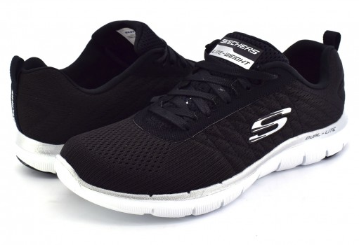 SKECHERS 12757 BKW BLACK WOMENS SPORT  22-27