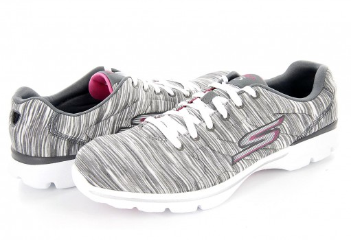 SKECHERS 14075X GRY GRAY WOMENS GO  22-27