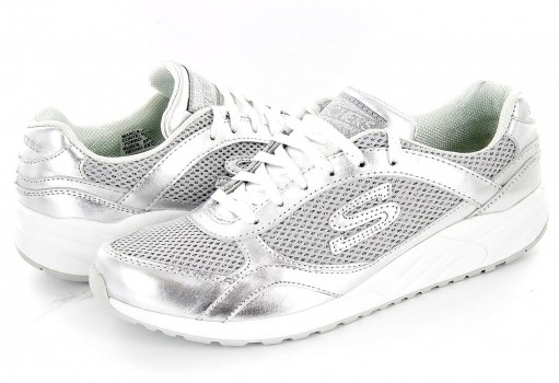 SKECHERS 617 SIL PLATA WOMENS SPORT ORIGINALS  22-27