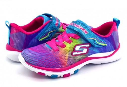 SKECHERS 81488L MLT MULTICOLOR GIRLS SPORT G  17-22