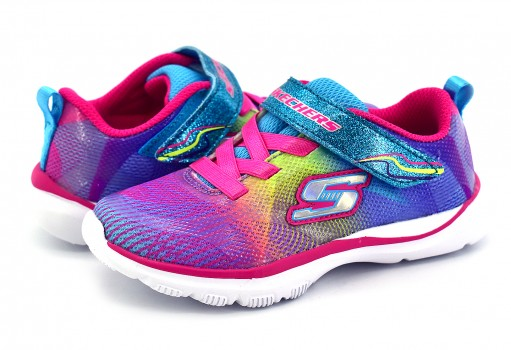 SKECHERS 81488N MLT MULTICOLOR GIRLS SPORT G  12 - 16