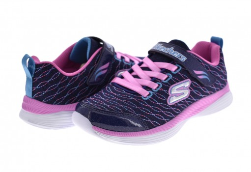 SKECHERS 83017 LNVPK MNO/ROSA SKECHERS GIRLS  17-24