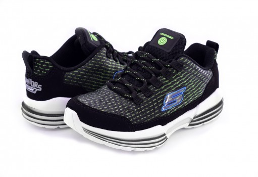SKECHERS 90730 BKLM NEGRO/LIMON SKECHERS BOYS  17-22