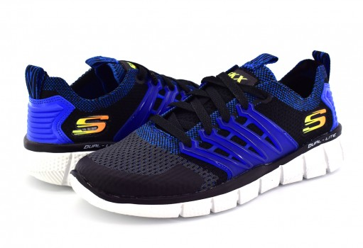 SKECHERS 97384L BGRY MNO/GRI RELAXED FIT SPORT B  17-24