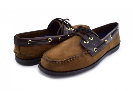 SPERRY 0 195412 0 BROWN/BUC BROWN A/O 2 EYE  25-30