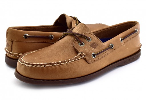 SPERRY 197640 SAHARA NUTMEG A/O  25-30