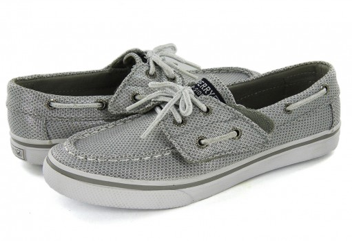 SPERRY CG 54671 SILVER BAHAMA JR  11-19