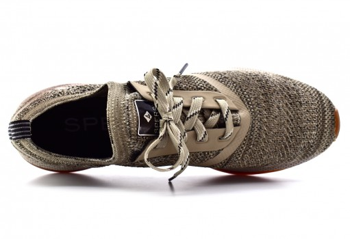SPERRY STS176 23 TAUPE/BLACK 7 SEAS CVO  25-30