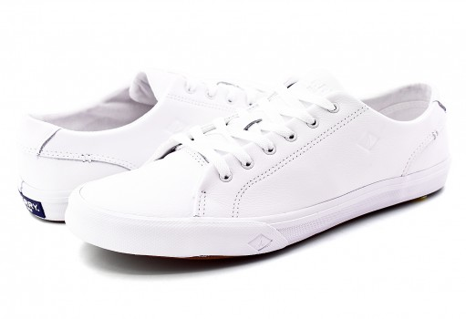 SPERRY STS177 18 STRIPER II LTT LEATHER WHITE  25-30