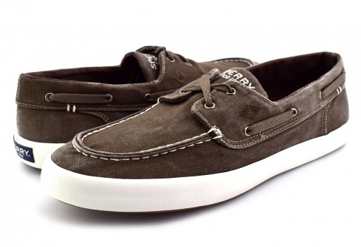 SPERRY STS 14363 STS CHOCOLATE WAHOO 2- EYE  25-30