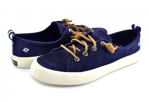 SPERRY STS 82400 NAVY CREST VIBE WASHABLE LEATHER  22-27