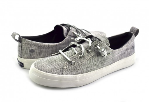 SPERRY STS 82406 SILVER CREST VIBE METALLIC  22-27