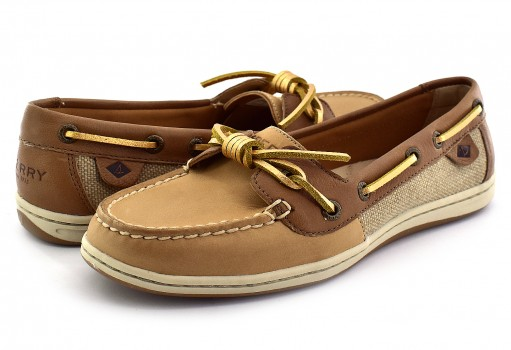 SPERRY STS 97211 STS LINEN/TAN BARRELFISH  22-27