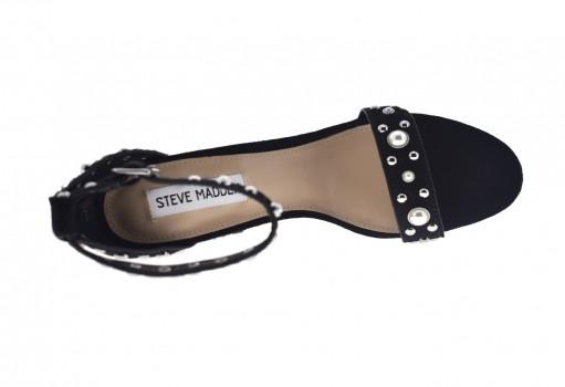 STEVE MADDEN CALLOW AY PONY HAIR BLACK  22.0-27.0