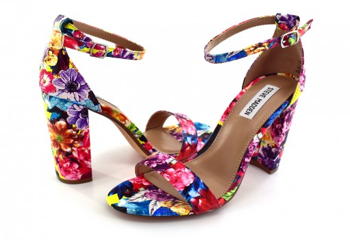 STEVE MADDEN CARRSO N FLOWER MULTI  22.0-27.0