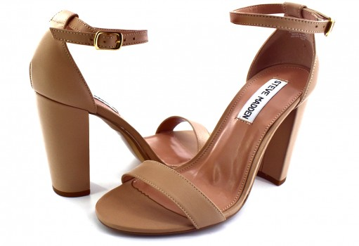 STEVE MADDEN CARRSO N LEATHER BLUSH  22.0-27.0