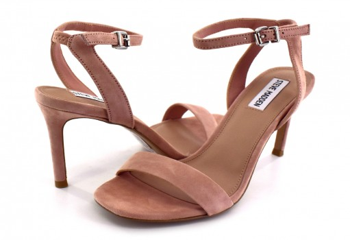 STEVE MADDEN FAITH BLUSH SUEDE  22.0-27.0