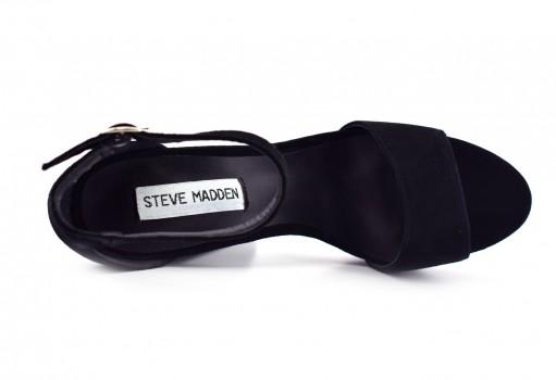 STEVE MADDEN GONZO SUEDE BLACK  22.0-27.0