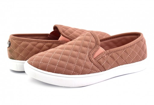 STEVE MADDEN #KOOL KICKS BLUSH NYLON  19-23