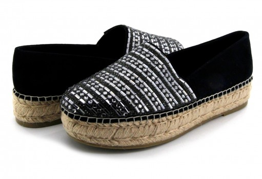 STEVE MADDEN PROUD BLACK MULTI  22.0-27.0