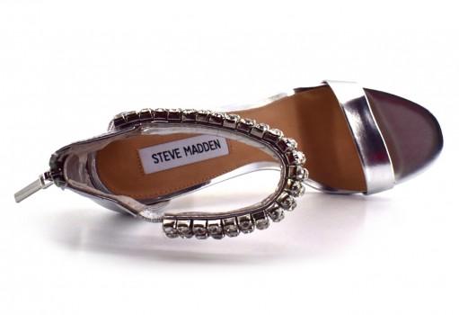 STEVE MADDEN RANDO SILVER  22.0-27.0