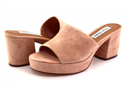 STEVE MADDEN RELAX BLUSH SUEDE  22.0-27.0