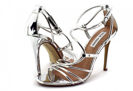 STEVE MADDEN SMITH SILVER  22.0-27.0