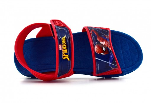 TENIS CON IMAGINACION 1206 SPIDERMAN ROJO  13-17