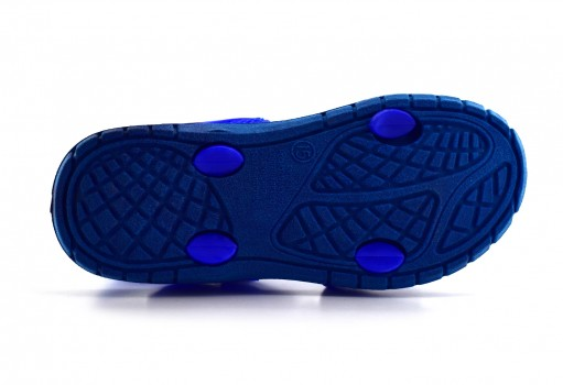 TENIS CON IMAGINACION 1208 SPIDERMAN AZUL  13-17